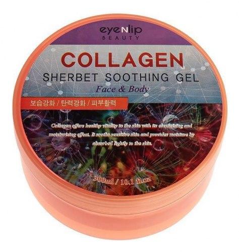 Гель-щербет универсальный успокаивающий EYENLIP Collagen Sherbet Soothing Gel 300мл