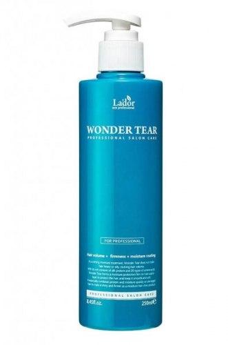 Бальзам-маска для увлажнения, укрепления и придания объема волосам LA'DOR Wonder Tear 250 мл