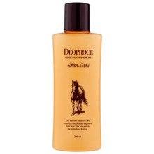 Эмульсия с гиалуроновой кислотой и лошадиным жиром DEOPROCE Horse Oil Hyalurone Emulsion 380мл