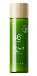 Эмульсия для лица увлажняющая с алоэ THE SAEM Jeju Fresh Aloe Emulsion 155 мл