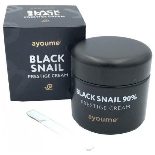 Крем для лица с муцином черной улитки AYOUME 90% Black Snail Prestige Cream 70 мл