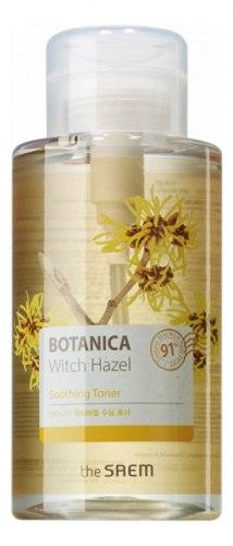 Мягкий тоник для лица THE SAEM Botanica Witch Hazel Soothing Toner 400мл