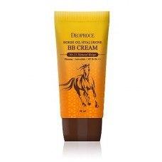 ВВ крем на основе лошадиного масла и гиалуроновой кислоты DEOPROCE Horse Oil Hyalurone ВВ Cream SPF50+PA+++, 60гр №23