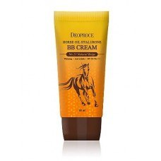 ВВ крем на основе лошадиного масла и гиалуроновой кислоты DEOPROCE Horse Oil Hyalurone ВВ Cream SPF50+PA+++, 60гр