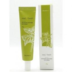 Увлажняющий крем для глаз DEOPROCE Real Fresh Vegan Intensive Soothing Eye Cream, 30 гр