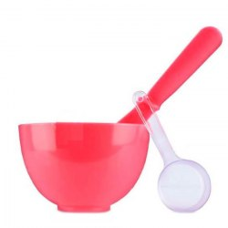 Набор для смешивания и нанесения альгинатных масок ANSKIN Beauty Set (RED) красный