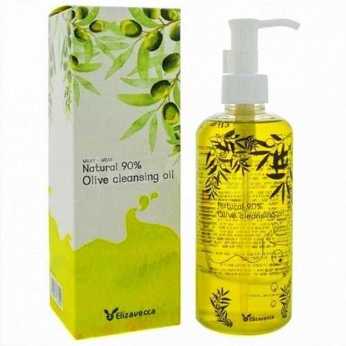 Гидрофильное масло ОЛИВА ELIZAVECCA Natural 90% Olive Cleansing Oil, 300 мл
