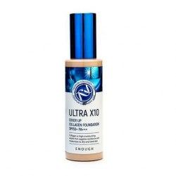 Основа тональная - Тональный крем с коллагеном SPF 50 Enough Ultra X10 Cover Up Collagen Foundation (№21) 100 мл