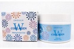 Крем для лица осветляющий с коллагеном Enough W COLLAGEN Whitening Cream Premium 50мл