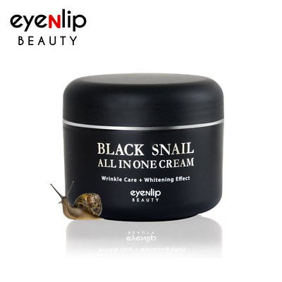 Регенерирующий крем для лица с муцином черной улитки EYENLIP Black Snail All in one Cream 100мл