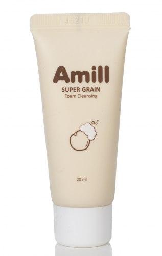 Пенка очищающая с экстрактами зерновых AMILL SUPER GRAIN FOAM CLEANSING (DELUXE SAMPLE) 20ml