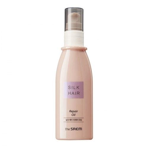Концентрированное восстанавливающее масло для сильно поврежденных волос THE SAEM Silk Hair Repair Oil 80мл