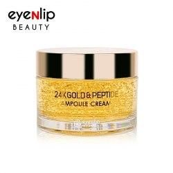 Крем с пептидами и золотом EYENLIP 24K Gold & Peptide Ampoule Cream 50 гр