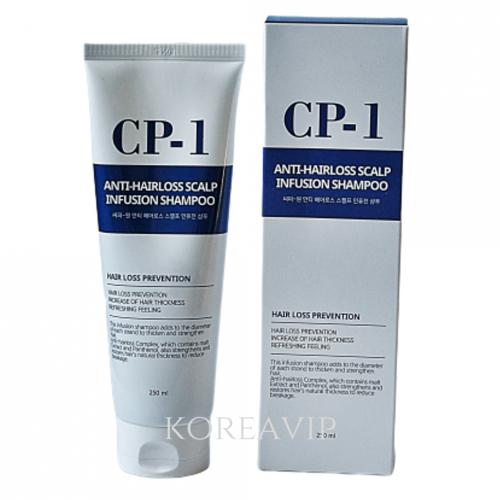 ESTHETIC HOUSE Шампунь против выпадения волос CP-1 Anti-hair loss scalp infusion shampoo 250ml ESTHETIC HOUSE