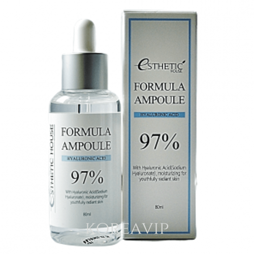 Сыворотка для лица с гиалуроном FORMULA AMPOULE HYALURONIC ACID ESTHETIC HOUSE
