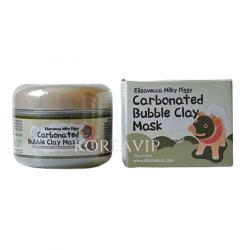 Маска для лица очищающая ПУЗЫРЬКОВАЯ с глиной Сarbonate Bubble Clay Mask, 100 мл Elizavecca