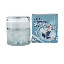 Крем для лица увлажняющий ГИАЛУРОНОВАЯ КИСЛОТА Aqua Hyaluronic Acid Water Drop, 50 мл Elizavecca
