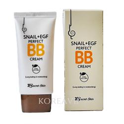ВВ крем с экстрактом улитки SNAIL+EGF PERFECT BB CREAM SECRET SKIN