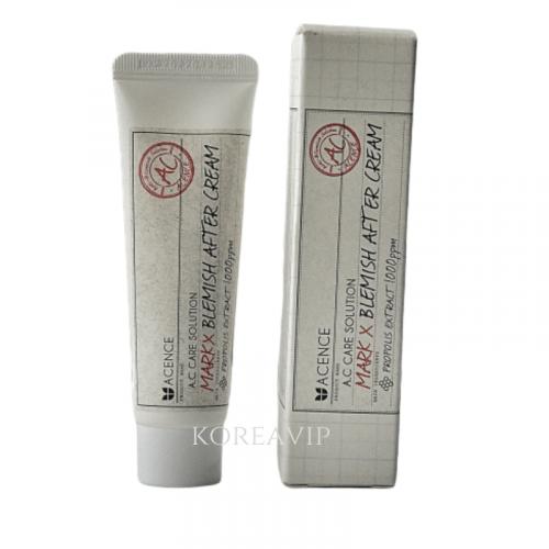 Крем от прыщей и рубцов-постакне Acence Mark-X Blemish After Cream MIZON