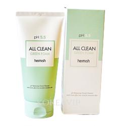 Очищающая Пенка Heimish All Clean Green Foam pH 5.5, 150 мл Heimish