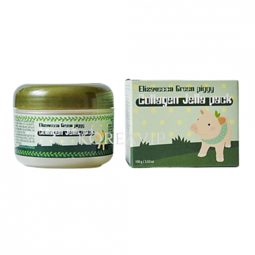 Маска для лица желейная с коллагеном ЛИФТИНГ Green Piggy Collagen Jella Pack, 100 мл Elizavecca