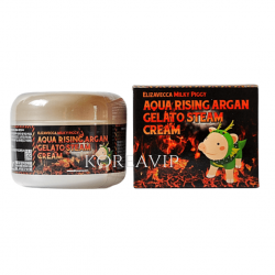 Крем для лица АРГАНОВОЕ МАСЛО Aqua Rising Argan Gelato Steam Cream, 100 гр Elizavecca