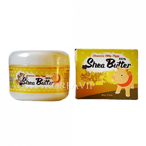 Крем универсальный питательный МАСЛО ШИ Milky Piggy Shea Butter 100%, 88 гр Elizavecca