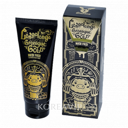 Маска-пленка ЗОЛОТАЯ Hell-pore longolongo gronique gold mask pack Elizavecca