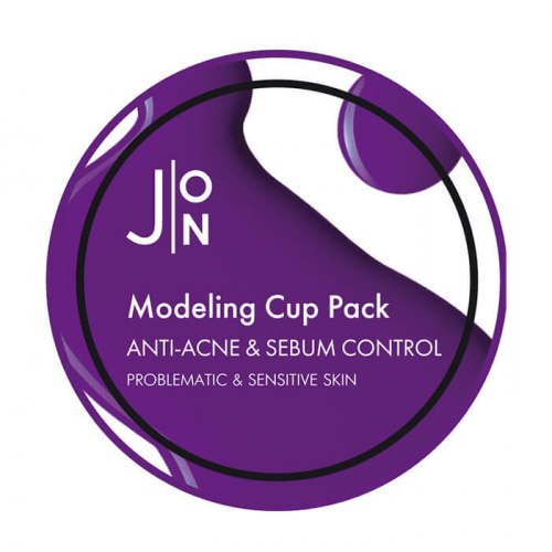 Альгинатная маска АНТИ-АКНЕ И СЕБУМ КОНТРОЛЬ ANTI-ACNE & SEBUM CONTROL MODELING PACK J:ON