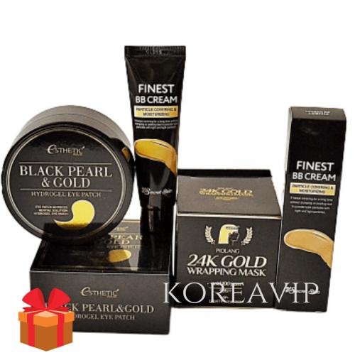 Подарочный набор Black Gold