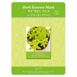Маска тканевая экстракты трав Herb Essence Mask 23гр MIJIN
