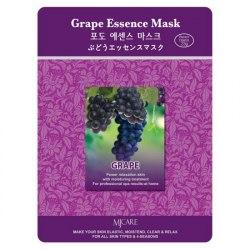 Маска тканевая виноград Grape Essence Mask MIJIN