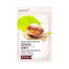 Маска тканевая с муцином улиткиl Natural Moisture Mask Pack Snail Eunyul