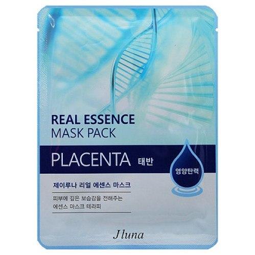 Тканевая маска JLuna Real Essence Mask Pack Placenta JLuna