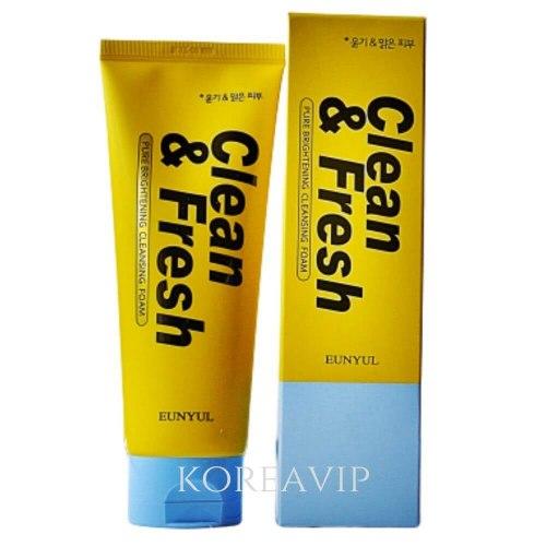 Очищающая пенка для сияния кожи PURE BRIGHTENING CLEANSING FOAM Eunyul