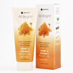 ПИЛИНГ-СКАТКА С МЁДОМ И ВИТАМИНОМ С ALL BRIGHT HONEY AND VITAMIN C BASIC PEELING GEL JKOSMEC