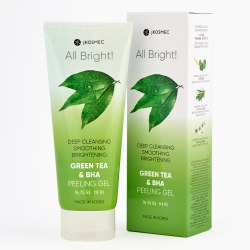 Пилинг-скатка с экстрактом зеленого чая И BHA ALL BRIGHT GREEN TEA AND BHA BASIC PEELING GEL JKOSMEC