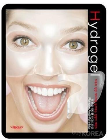 Гидрогелевая маска для лица против морщин ANTI WRINKLE HYDROGEL BEAUUGREEN