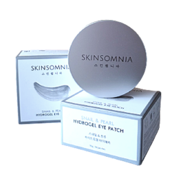 SNAIL & PEARL HYDROGEL EYE PATCH ГИДРОГЕЛЕВЫЕ ПАТЧИ С ЭКСТРАКТАМИ УЛИТКИ И ЖЕМЧУГА SKINSOMNIA