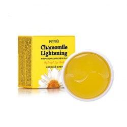 Chamomile Lightening Hydrogel Eye Patch Гидрогелевые патчи для глаз с экстрактом ромашки PETITFEE