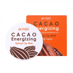 Cacao Energizing Hydrogel Eye Patch Тонизирующие гидрогелевые патчи с какао PETITFEE