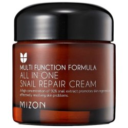 Крем для лица с муцином улитки All In One Snail Repair Сream MIZON