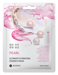 Маска с экстрактом жемчуга PEARL ULTIMATE HYDRATING ESSENCE MASK JKOSMEC