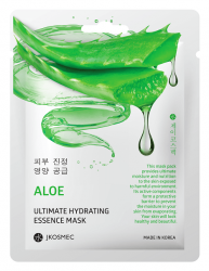 Маска с экстрактом алоэ ALOE ULTIMATE HYDRATING ESSENCE MASK JKOSMEC