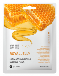 Маска с экстрактом прополиса ROYALL JELLY ULTIMATE HYDRATING ESSENCE MASK JKOSMEC