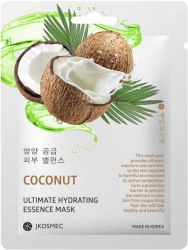 Маска с экстрактом кокоса COCONUT ULTIMATE HYDRATING ESSENCE MASK JKOSMEC