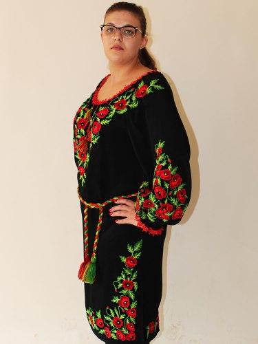 Женское вышитое платье Эксклюзив