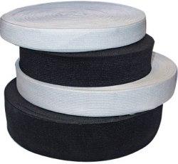 Эластичная лента, резинка Козачок-ТМ Белая и Черная