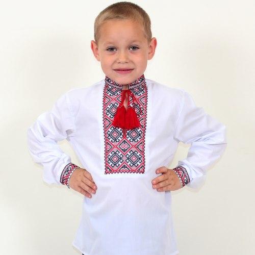 Детская вышиванка для мальчика Грицько