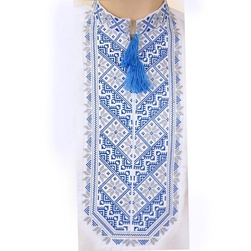 Мужская вышиванка Микола с коротким рукавом